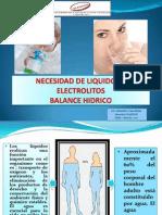 Necesidad Liquidos Electrolitos ACM-2011