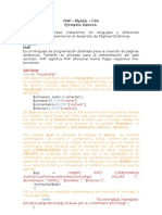 Ejemplos Php - Css- Mysql