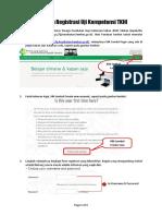Panduan Registrasi Uji Kompetensi Fasilitator TKHI