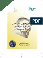GUIA PARA LA ELABORACIÓN DE PLANES DE MEJORA EN LAS INSTITUCIONES EDUCATIVAS