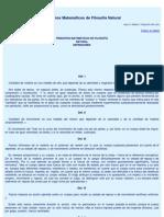 Principios matemáticos de filosofia natural PARTE1