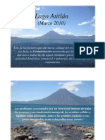 Impactos Ambientales en el Lago de Atitlán