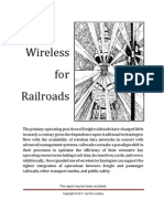 Wireless for Railroads, By Ron Lindsey, April 2011