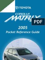 2005 Matrix