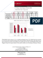 Bethel, CT Home Sales Report March 2011 by Higgins Group Real Estate