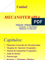 SEGUNDA UNIDAD , Mecanoterapia Ppt Share)