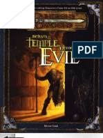 D&D - Return to the Temple of Elemental Evil