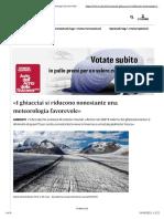 «I ghiacciai si riducono nonostante una meteorologia favorevole»