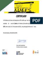 Certifica Do Squ i Mica 002