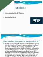 Unidad 2 (Sistema Turistico)