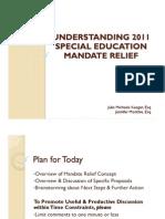 Mandate Relief
