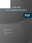 Chiari Malformations Report