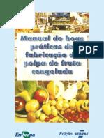 Manual de Boas Práticas de Produção de Polpa de Frutas Congeladas