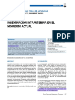 inseminacion intrauterina