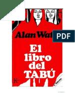 Alan Watts - El Libro del Tabú