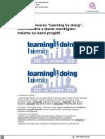Al via il concorso Learning by doing - Vivere Urbino.it, 23 ottobre 2021