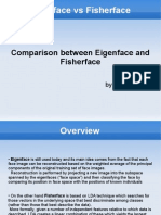 Eigenfaces vs Fisher Faces Presentation