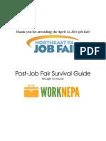 Job Fair Thank You Doc