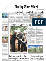 The Daily Tar Heel for April 21, 2011