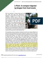 2. ARTI Biogas Plant_ a Compac...