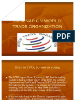 121 Seminar on World Trade Organization