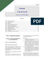 Burundi - Code Travail