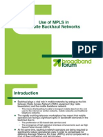 MPLS-MobileBackhaul