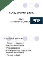 Fkc 232 Slide Ruang Lingkup Steril