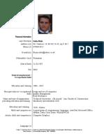 CV Florin Englez