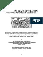 Jerusalem; Rome; Revelation