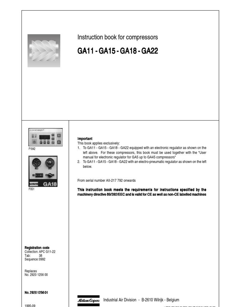 1509800850 manual atlas copco elektronikon i e ii gas compressor valve atlas copco elektronikon wiring diagram at panicattacktreatment.co