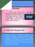 f. Metode-metode Sosiologi