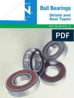 NTN 6916 - Catalog 3015 - Ball Brgs Shield & Seal Types