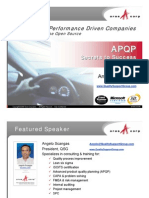 APQP Secrets to Success QSG Aras 070613
