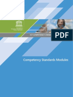 ICT CST Competency Standards Modules