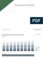 FB Earnings Presentation Q3 2021