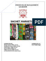 sachet marketting