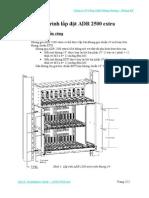Quy trình lắp đặt ADR 2500 -extra