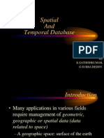 Spatial and Temporal Database