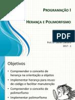 Programação i Herança e Polimorfismo_intro
