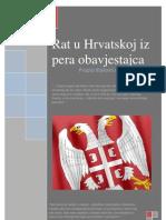 Rat u Hrvatskoj Iz Pera Obavjestajca