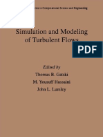Simulation and Modelimg of Turbulent Flows_ Lumley J.L.