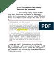 Meryl Dorey and the Three Part Fantasy