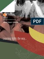 IRRAD Annual Report 2008-09
