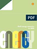 Shell Energy Scenarios 2050