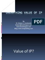 Unearthing Value of IP