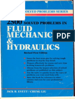 Fluid Mechanics -2500 Solved Problems in Fluid Mechanics