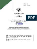 Term Loan Form