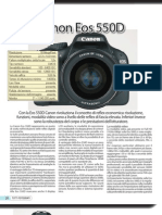 eos 550D - informativa