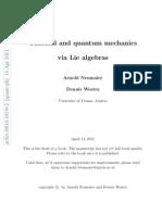 Classical and Quantum Mechanics via Lie Algebras